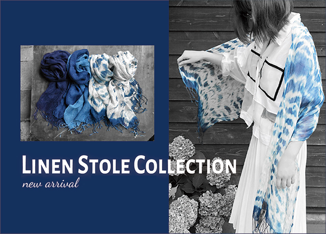 LINEN STOLE COLLECTION