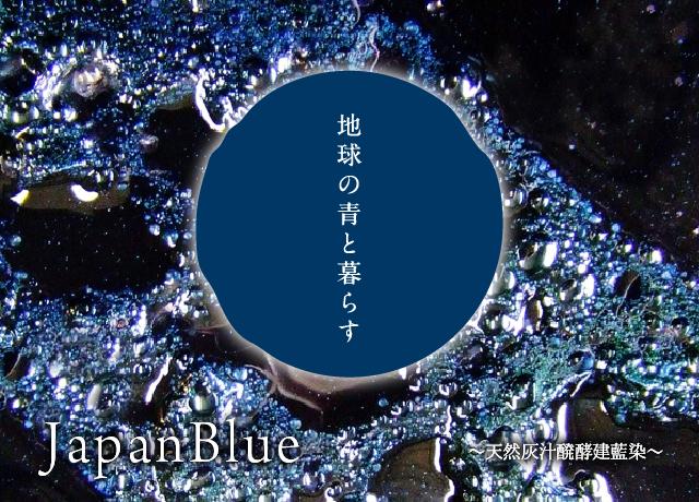 地球の青と暮らす