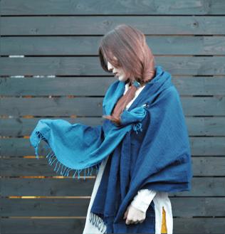 藍サンプル写真