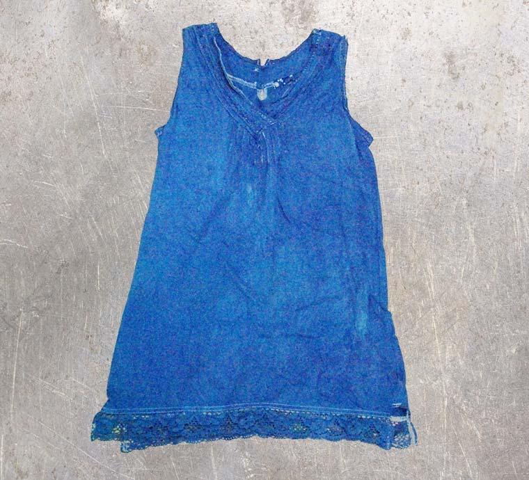 キャミソール1-藍染直し後