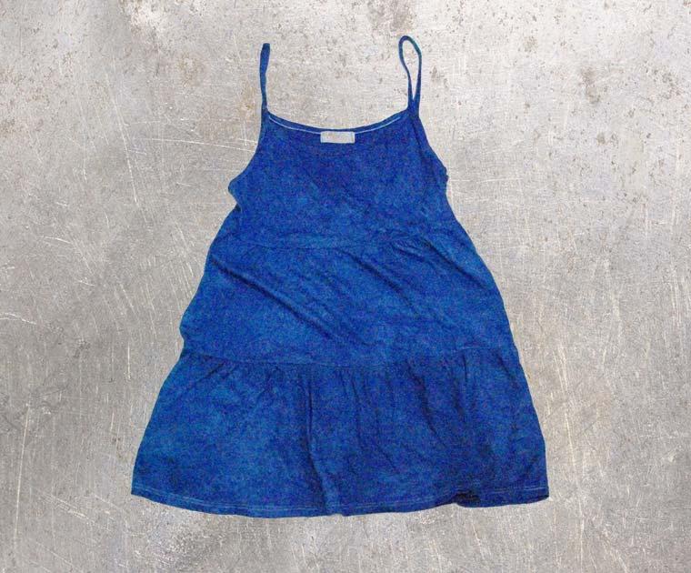 キャミソール2-藍染直し後